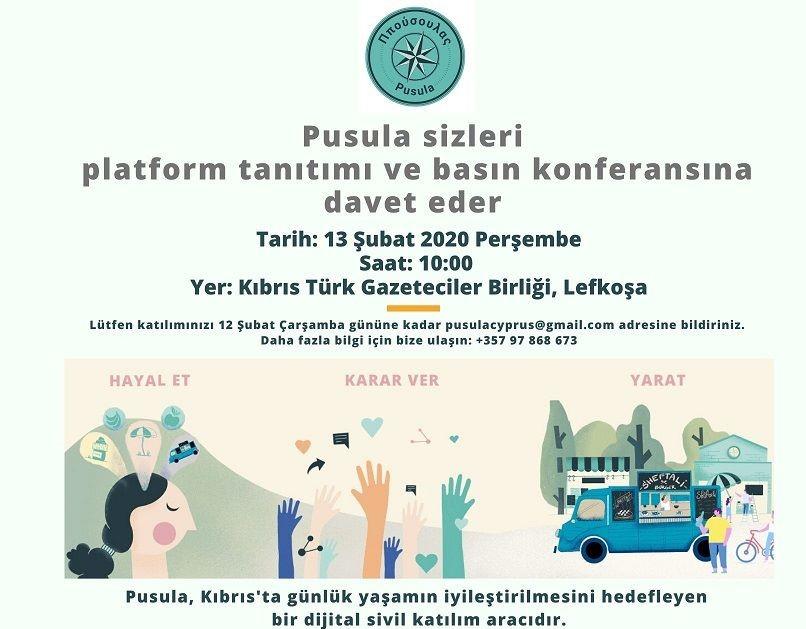 PUSULA, Platform Tanıtım ve Basın Konferansı