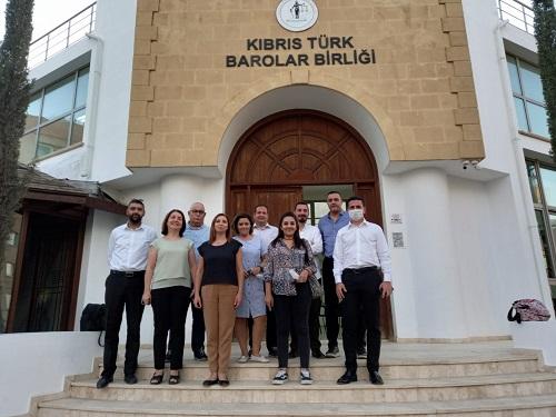 Gazeteciler Birliği, Barolar Birliği'ni ziyaret etti